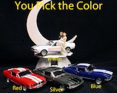 Ford Shelby Mustang Mechanic Auto Wedding groom CAKE top Topper Racing Mussel Car Sport tools
