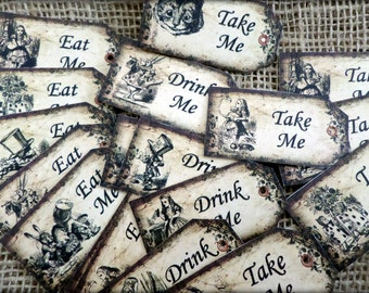 Alice in Wonderland... 'Eat Me'...'Drink Me'... 'Take Me'...'Use Me'... Tags