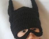 Infant Batman baby hat