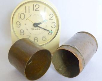 Vintage COPPER AMMO CAN/ Military Memorabilia