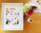 Grace WIns Print