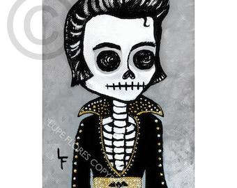 Elvis Presley 5x7 art print