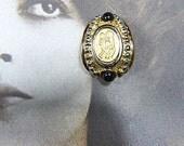 Vintage Baroque Gold Clip Earrings - V-EAR-663 - Baroque Gold Earrings - Baroque Earrings