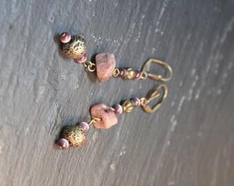 Boucles d'oreille collection lima