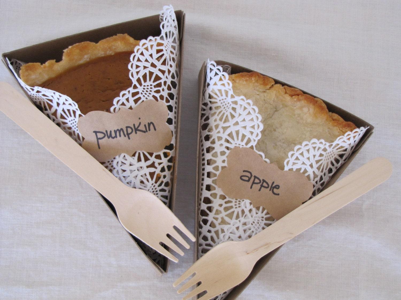 Cardboard Pie Slice Boxes Pie Slice Box For Weddings