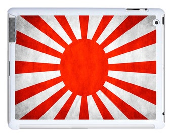 iPad 2/3/4 - iPad Mini - snap on plastic case - Japan Japanese Rising Sun Flag
