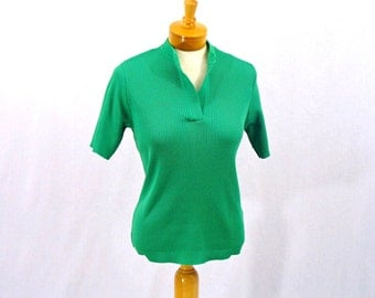 60s Top * Kelly Green Top * Mod Top * Ribbed Top * Short Sleeve Top * St. Patrick Day Top * Hooper