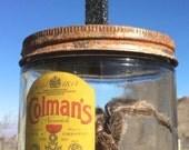 Old Rugged Cross -  Black Granite - Colman's Mustard Jar - Tarantula - AZ DAN