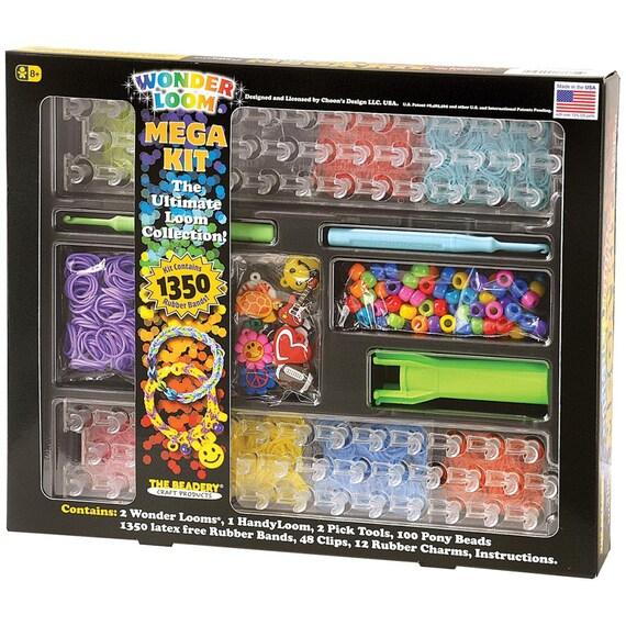 Ultimate Wonder Loom Bands Mega Kit Kids Crafts By Ephemeratta