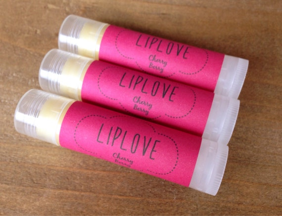 Cherry Berry Lip Love - Natural Lip Balm
