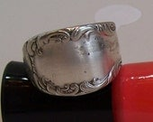 Spoon Ring Size 8- Silverware Jewelry Ring Size 8- Silverware Ring Size 8