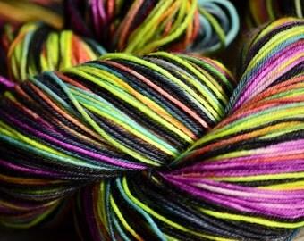 A Colorful Resolution ***** PREORDER*** Superwash Merino Nylon Blend Sock Yarn 463 yards/100 grams