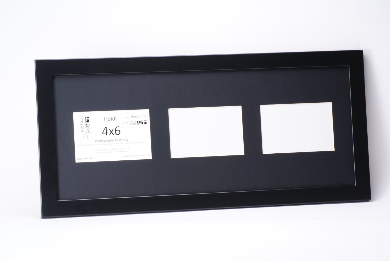 4x6 vertical 3 4 5 6 7 8 opening black picture frame with collage sold by creativeletterart jeuxipadfo Gallery