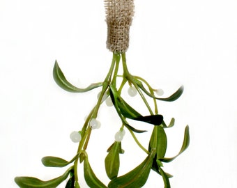 Kiss Kiss Artificial Mistletoe