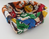 M and M's Fabric Box-Free Shipping to US and Canada