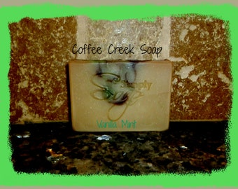 Natural Soap Vanilla Mint