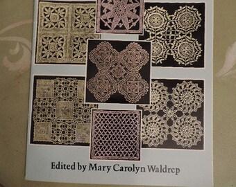 Vintage Crochet Patterns,  Instruction Book with 42 Motifs,  Crochet Supply,  Craft Supply