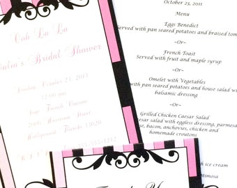 Paris Bridal Shower Party Set
