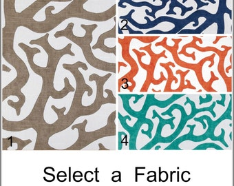 P Kaufmann Coral Reef Custom Unlined Drapes Suzani Curtains 50x60 - 50x108
