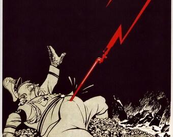 Forward to Victory. Stalingrad. PROPAGANDA Soviet poster 1942s propaganda, ussr, soviet union, Soviet, ussr poster,