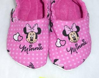 Minnie slippers size 11 - 13