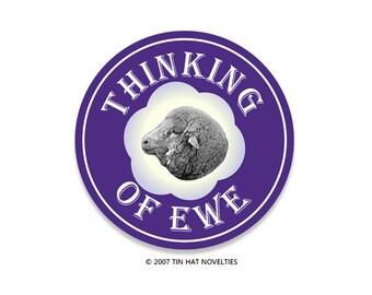 Thinking of Ewe Sticker. I miss you so baaaad.