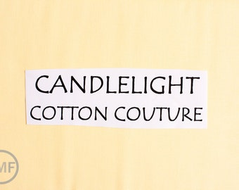 One Yard Candlelight Cotton Couture Solid Fabric from Michael Miller Fabrics, SC5333-CDLT-D