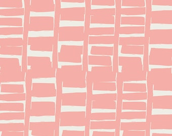 Gramercy Rush Hour in Rose, Leah Duncan, Art Gallery Fabrics, 100% Cotton Fabric, GRA-4508