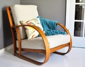 Mid-Century Bentwood Lounge Chair by Lloyd Manufacturing Company - Division of Heywood Wakefield