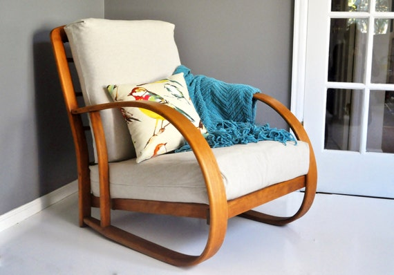 Mid Century Bentwood Lounge Chair By Lloyd Manufacturing
