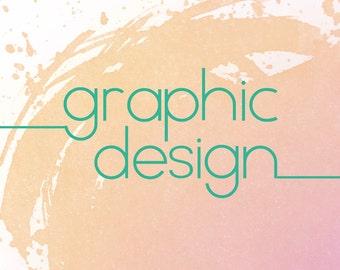 Custom branding/ graphic design/ logo design/ banner design