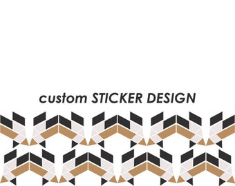 CUSTOM ad-ons: STICKER DESIGN