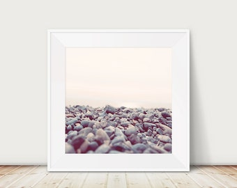 nature photography pebbles photograph Lake Constance photograph rocks photograph purple home decor Germany photograph lake photograph