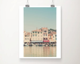 Cassis photograph boat photograph france photograph travel photography provence photograph french decor france print boat print