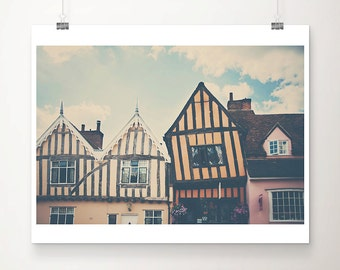 Lavenham photograph architecture photography english decor england photograph travel photography tudor home photograph window photograph