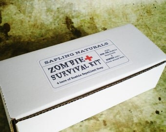 Zombie Survival Kit -choose your own scents- great gift for men, nerds, survivalists