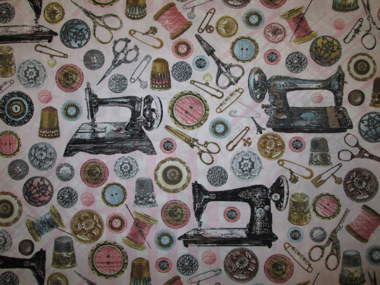 retro cotton machine