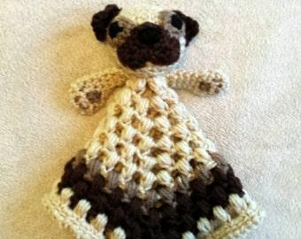 Crochet Pug Lovey