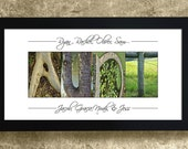 GIFT for AUNT - Alphabet Letters Photography, Gift for Her, Gift for Sister, Personalized Aunt Gift