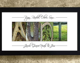 Aunt Gift, Gifts for Aunt, Auntie Gift, Gift for Her, Birthday Gift for Sister, Personalized Aunt Gift, Gifts Under 30, Alphabet Art Photos