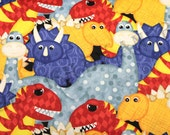 Have You Seen My Dinosaur Jennifer Pugh for Wilmington Prints 1828-82410-453/Fabric by the Yard/Half Yard/Fat Quarter/ PRICE VARIES