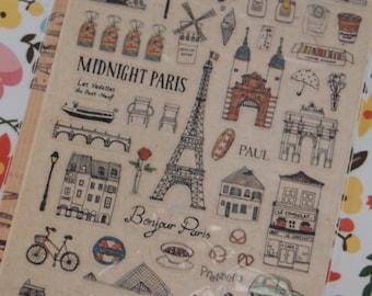 Suatelier Midnight Paris Sticker (1 Sheet)