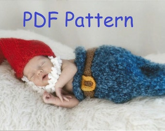 Baby Gnome Set - PDF Pattern