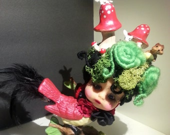 Art doll - Miss Woodfinch