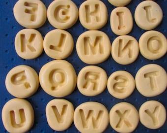 mini alphabet mold set letter a b c d e f g h i j k l m n o p q r s t u v w x y z letters mold molds block letter set polymer clay fondant