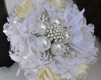 Brooch Wrist Corsage - Made to Order