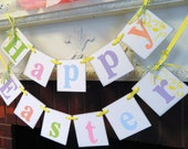 EASTER Decorations -Spring Banners - Happy Easter Banner -Easter Garlands - Holiday garland
