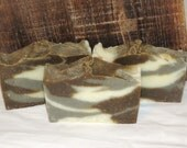 Sea Kelp and Agave Scented Dead Sea Mud and Kelp Luxury Cold Process Rustic Soap with Aloe