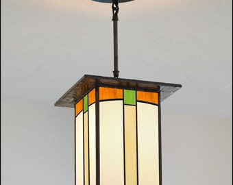 Mission Lantern - Handmade in the USA - Great Hall Light