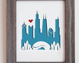 Chicago, IL #2.  Personalized Gift or Wedding Gift